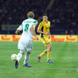 Stock Photo: Metalist Kharkiv vs Rapid Wien football match