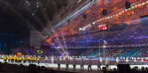 Sochi 2014 Olympic Games opening ceremony — Stock Photo