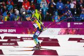 Biathlon Men's Sprint 10 km — Stock Photo