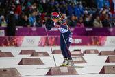 Biathlon Women's 7.5 km Sprint — Foto de Stock