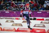 Biathlon Women's 7.5 km Sprint — Foto Stock