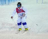Vrije stijl skiën mannen moguls finale — Stockfoto