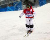 Freestyle skiing Men's Moguls Final — Stock fotografie