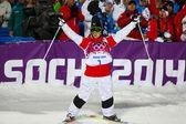 自由式滑雪男子大亨决赛 — 图库照片