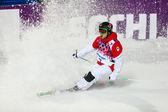 Freestyle skiing Men's Moguls Final — ストック写真