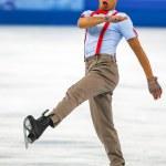 Постер, плакат: Figure skating Men Free Skating