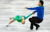 Figure Skating. Pairs Short Program — Стоковое фото