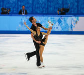Figure Skating. Pairs Short Program — ストック写真