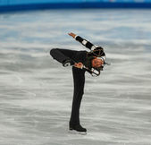 Patinage artistique. programme court hommes — Photo