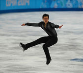 Figure skating. Men Short Program — Stockfoto
