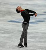 花样滑冰。男子短节目 — 图库照片