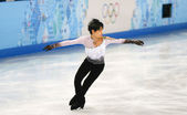 Figure skating. Men Free Skating — 图库照片