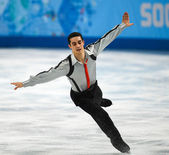 Figure skating. Men Free Skating — Стоковое фото