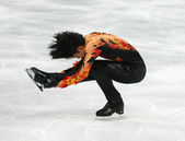 Figure skating. Men Free Skating — Foto Stock