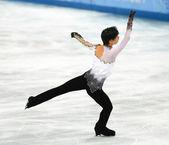 花样滑冰。男子自由滑冰 — 图库照片
