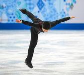 Figure skating. Men Free Skating — Stock Photo