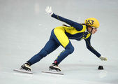 Ladies' 1000 m Heats Short Track Heats — Foto Stock
