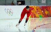 Speed Skating. Ladies' 5000 m — Foto Stock