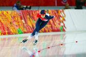 Speed Skating. Ladies' 5000 m — ストック写真