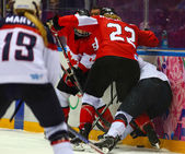 Ice hockey. Women's Gold Medal Game — Zdjęcie stockowe