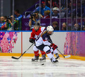 Ice hockey. Women's Gold Medal Game — Foto de Stock