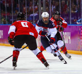 Ice hockey. Women's Gold Medal Game — Stockfoto