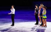 Figure Skating Exhibition Gala — Stock Photo