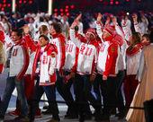 Juegos Olímpicos de Sochi 2014 clausura — Foto de Stock