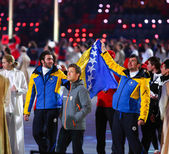 Sochi 2014 Olympic Games closing ceremony — 图库照片