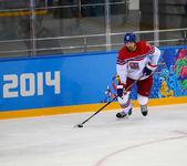 Hockey sobre hielo. calificaciones finales de los hombres — Foto de Stock