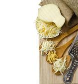 Varios tipos de queso — Foto de Stock