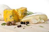 さまざまな種類のチーズ — ストック写真