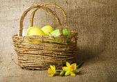 Yumurtalı paskalya dekorasyon — Stok fotoğraf
