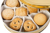 Sweet cookies in a box — Stock Photo
