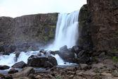 Ofaerufoss waterfall. — Stock Photo