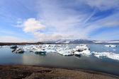 Jokulsarlon gölü — Stok fotoğraf