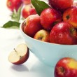 Apples in a bowl — Stok fotoğraf