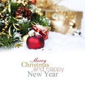 Composición de navidad — Foto de Stock