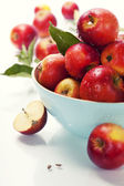 Apples in a bowl — Stockfoto