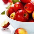 Apples in bowl — Stockfoto #13634312