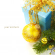 Christmas composition — Foto de stock #14387567
