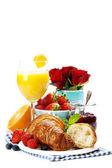 свежий здоровый завтрак — Стоковое фото