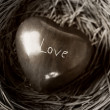 Wooden Heart - Foto Stock