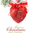 Christmas heart — Foto de Stock