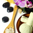 Orchid Spa Composition — Stockfoto