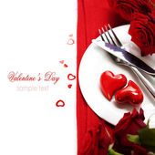 Hearts on a plate — Stockfoto