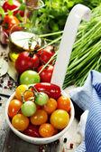 Färska tomater — Stockfoto