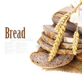 Freshly baked bread — Stock Photo