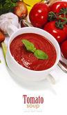 Traditional tomato soup — Stok fotoğraf