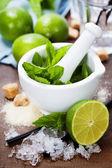 Cocktail ingredients — Stock Photo